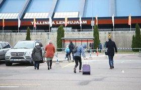 Keleivių srautas per Talino oro uostą lapkritį sunyko daugiau nei ketvirtadaliu