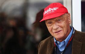 Mirė Austrijos F-1 legenda Niki Lauda