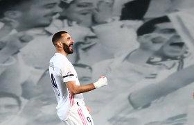 """El Clasico"" mūšyje – K.Benzemos klasė, apmaudus rikošetas ir sunki ""Real"" pergalė"