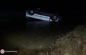 Naktinę kelionę Varniuose 18-metė VW vairuotoja prisimins visą gyvenimą