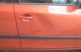 Ignalinoje chuliganiškai apgadintas Vaiko teisių apsaugos tarnybos automobilis