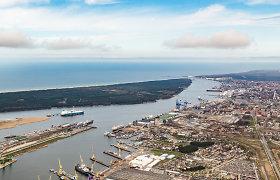 Per trejus metus į Klaipėdos uostą numatoma investuoti 400 mln. eurų