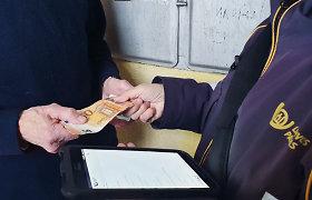 Žadama pensijas atiduoti iki trečiadienio, vėliausiai – su vasario pensija