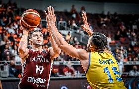 """""""Žalgirio"""" naujoką taupę Latvijos krepšininkai – pasaulio čempionato atrankoje"""
