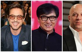 """""""Forbes"""" paskelbė daugiausia pasaulyje uždirbančių aktorių sąrašą"""