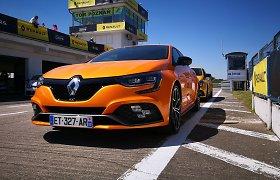 """Naujasis """"Renault Megane R.S."""": ko vertas šitas oranžinis chuliganas?"""