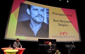 Astridos Lindgren premija atiteko Belgijos rašytojui Bartui Moeyaertui