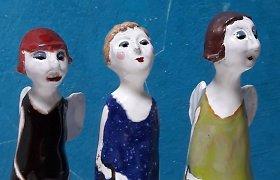 """""""Molio sesių"""" rankų darbo keramikos dirbiniai"""