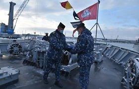 Lietuva perdavė Nyderlandams vadovavimą NATO laivų grupei