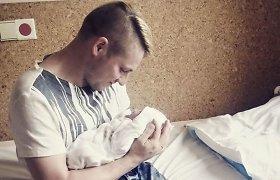 """Viliui Tamošaičiui-Gerai Gerai ir jo žmonai Ingridai gimė dukra: """"Tai yra stebuklas"""""""