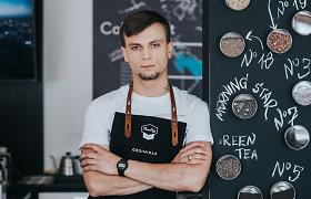 Kavos ruošimo treneris: pieno temperatūrai nustatyti užtenka delno