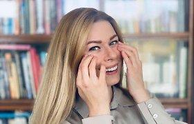 Viktorija Baltramiejūnienė dalijasi pratimais, kaip pagerinti paakių būklę