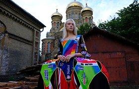 Naujausia Agnės Kuzmickaitės kolekcija pristatyta Londono mados savaitėje