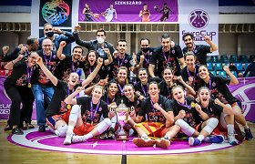 Dviejų lietuvių kovoje dėl FIBA taurės triumfavo Laura Juškaitė