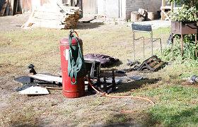 Jiezne – dujų baliono sprogimas: nukentėjo jį keitusi moteris, name kilo gaisras