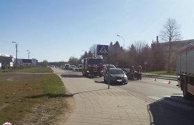 Pirmadienį į avarijas pateko daug VW automobilių, dar daugiau – girtų vairuotojų