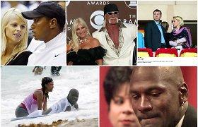 Didelės nuodėmės ir didelės sumos – 10 brangiausių sporto žvaigždžių skyrybų