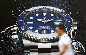 Pasaulyje smunka šveicariškų laikrodžių paklausa