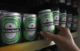 """Reaguodama į sumažėjusius pardavimus, """"Heineken"""" atleis 10 proc. darbuotojų"""