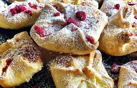 """""""Gal ką skanaus"""" receptas: trapios tešlos pyragaičiai su maskarponės sūriu"""