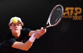 Šviesi Italijos teniso ateitis: jauniai negailestingai baudė pasaulines žvaigždes