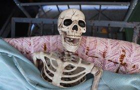Giedraičių kaimo laukuose rasta žmogaus kaukolė ir šlaunikaulis