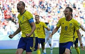 Švedų šventė pasaulio čempionate – VAR paskirtas baudinys lėmė pergalę
