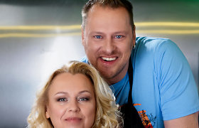 """""""Tarasovai virtuvėje"""": gaivios salotos su antiena"""