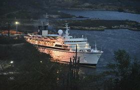 Kiurasao ruošiasi priimti scientologų laivą, kuriame kilo tymų protrūkis