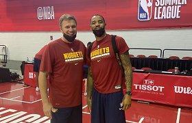 NBA Vasaros lygoje dirbęs D.Adomaitis – apie krepšinio madas ir M.Pocių aikštelėje