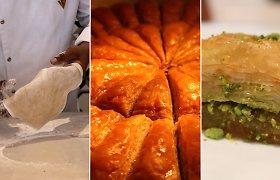 Ko reikia norint pasigaminti tobulą turkišką baklavą