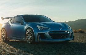 """""""Subaru"""" eksperimentas: BRZ pakeis sportinis automobilis su varikliu viduryje"""