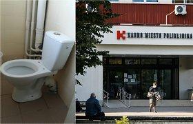 Neįtikėtina: vagišiams rūpi net unitazų dangčiai – iš Kauno miesto poliklinikos tualetų šiemet jų dingo 26