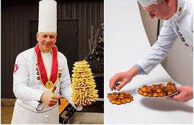 Buvęs Prancūzijos ambasados virtuvės šefas gimtajame kaime kepa kaneles ir šakočius