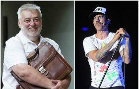 """A.Bumblauskas į Lietuvos 100–mečio šventę norėtų pakviesti """"Red Hot Chili Peppers"""" lyderį"""