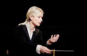 Pianistės Tamaros Stefanovich koncertą diriguos Anu Tali – viena ryškiausių dirigenčių Europoje