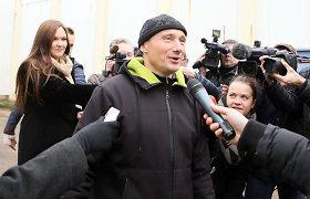 Gintaras Petrikas išleistas iš Pravieniškių pataisos namų