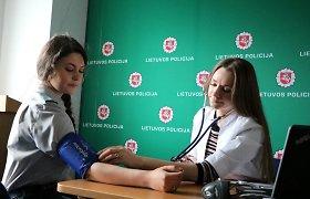 Kauno pareigūnai, tapo neatlygintinais kraujo donorais