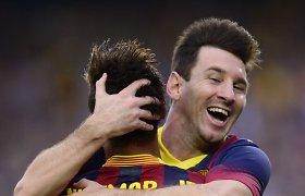"""Alvaro Negredo: """"Lionelis Messi galėtų persikelti į Angliją, nes Ispanijoje jam nuobodu"""""""