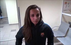 """""""Barcelona"""" moterų komanda – jau Šiauliuose"""