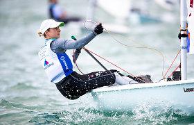 Startas Europos čempionate Lietuvos buriuotojams taps efektyviu pasiruošimu Tokijo olimpiadai