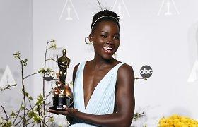 """Oskaro"" laureatė Lupita Nyong'o palygino save su Pelene"