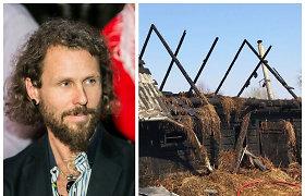 Linas Karalius prašo žmonių pagalbos: per gaisrą sudegė jo tėvų namai