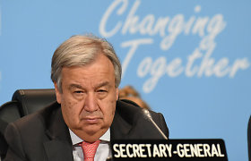 JT generaliniu sekretoriumi perrinktas Antonio Guterresas