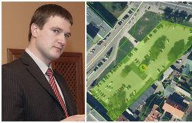 Sklypą šalia Vilniaus savivaldybės teismas grąžino valstybei