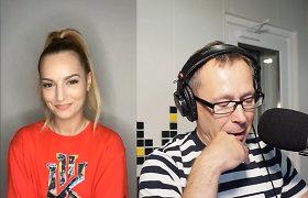 """""""Radiocentre"""" viešėjusi hito atlikėja Minelli: """"Lietuva turi gerą muzikos skonį"""""""