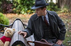 Ewanas McGregoras naujame filme dalinosi scena su įsivaizduojamu Mike Pūkuotuku