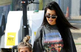 Realybės šou žvaigždė Kourtney Kardashian