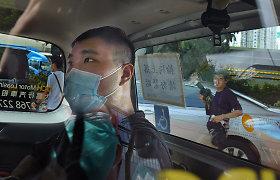 """Honkonge pirma """"nacionalinio saugumo"""" byla nagrinėjama be prisiekusiųjų"""