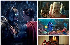 20 pelningiausių 2016 metų filmų: kas į kino teatrus sutraukė minias ir uždirbo milijardus?